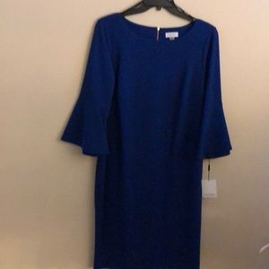 Calvin Klein Plus Size Stretch Crepe Dress Siz 16W